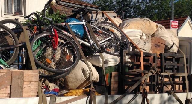 Odvoz věcí na tábor