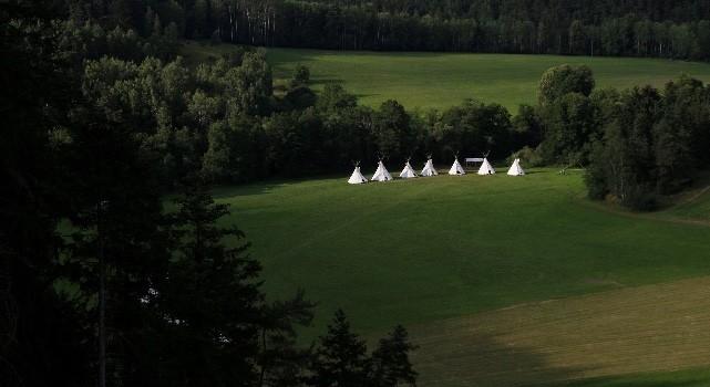 Fotky z tábora na Střele