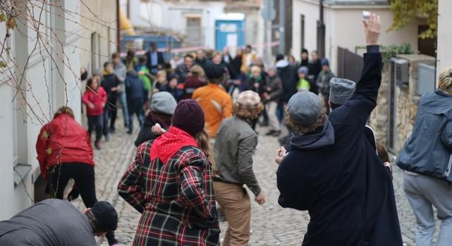 Hra po Praze